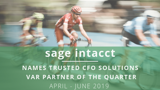 bike racing, sage intacct partner of the quarter