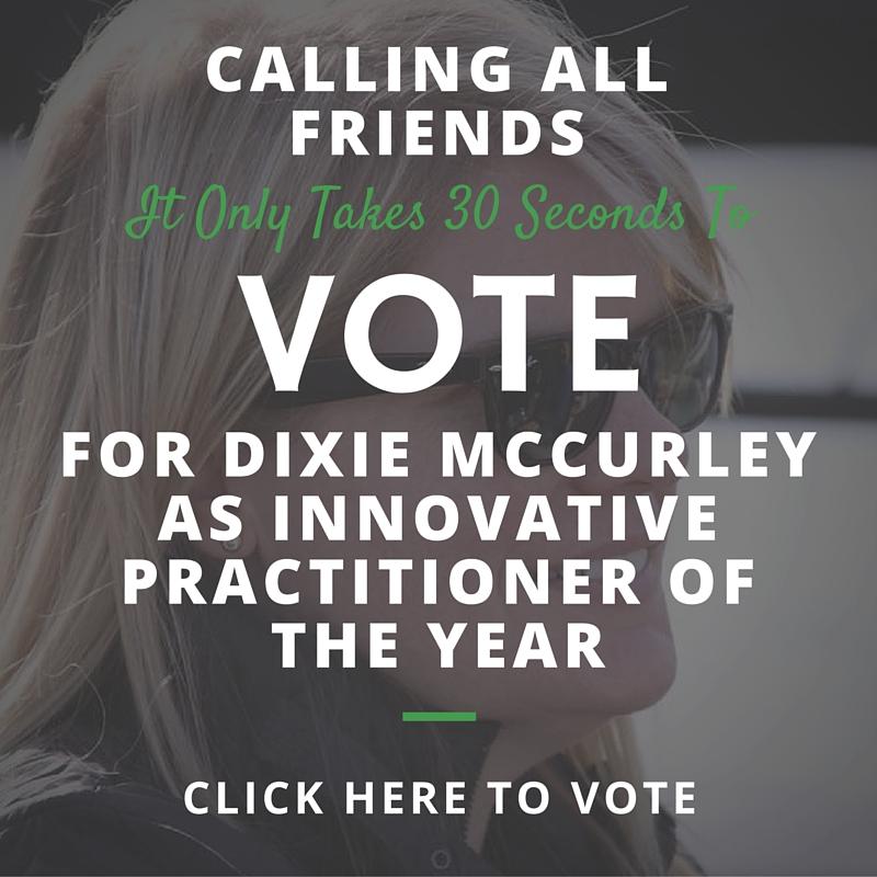 Vote Dixie McCurley Innovative Person