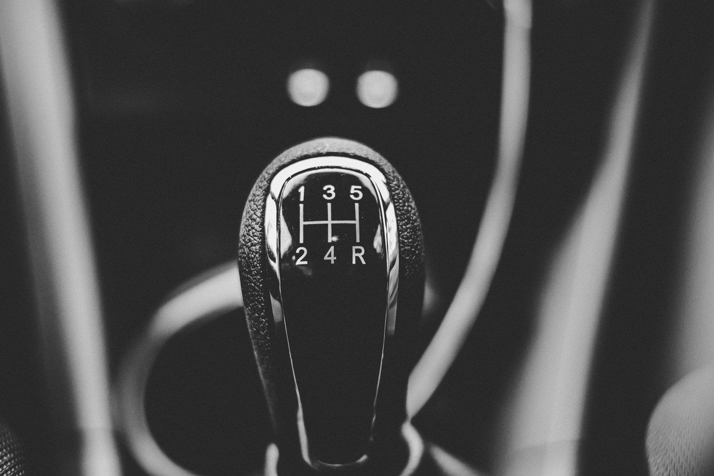 car manual shifter