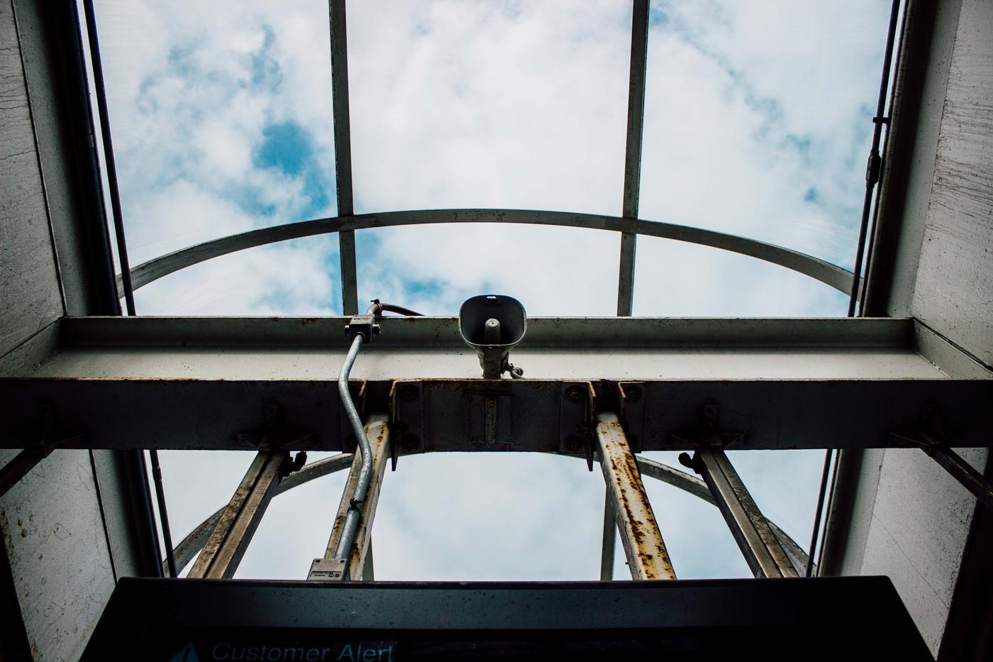 Announcement - speaker - ceiling window