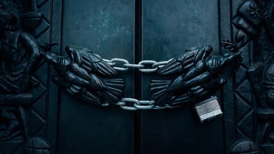 locked gated