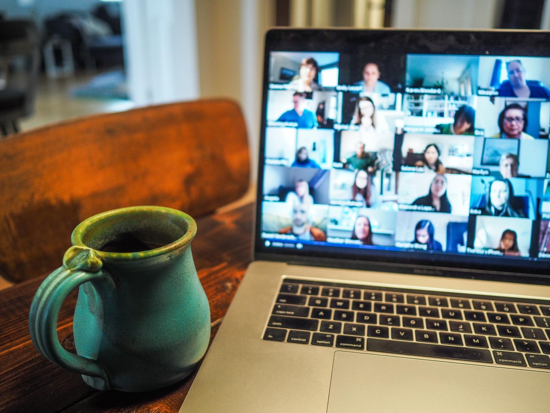 webcam zoom conference